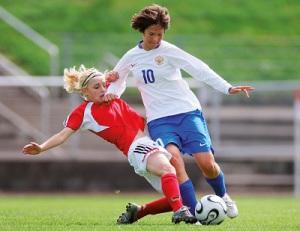 Особенности женского футбола